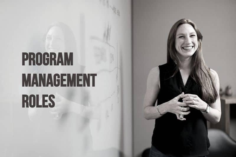 program management roles