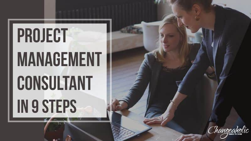 Become a Project Management Consultant in 9 Steps title image