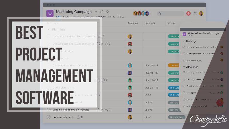Best Project Management Software title image