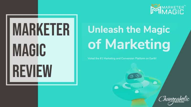 marketer magic review blog title image