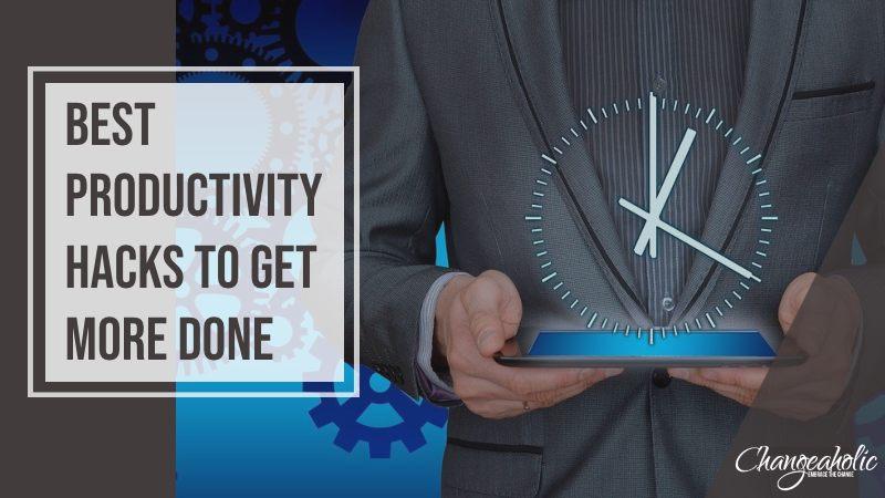 productivity hacks blog title image