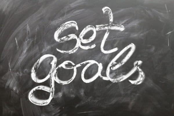 productivity hacks - set goals