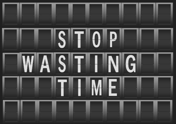 productivity - stop waisting time